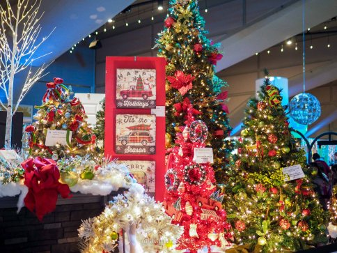 edmonton, festival of trees, christmas, december