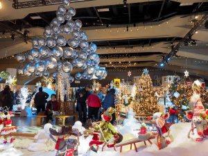 edmonton, festival of trees, christmas, december