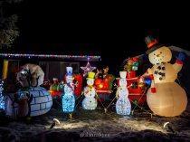 edmonton, holiday lights, christmas, candy cane lane, winter, december