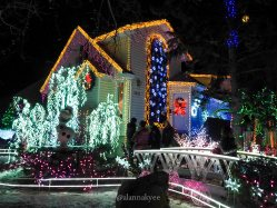 edmonton, holiday lights, christmas, christmas at bob's, winter, december