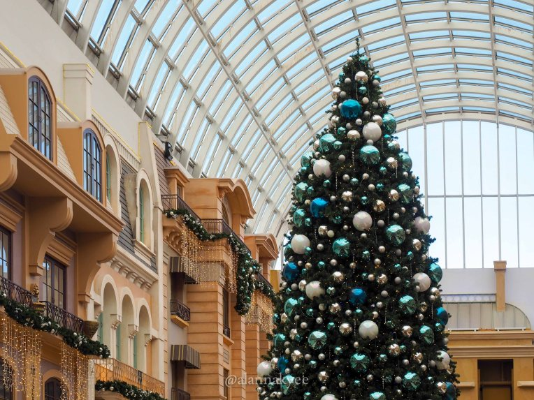 yeg, december, christmas, west edmonton mall