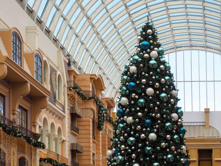 yeg, december, christmas, west edmonton mall