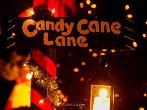 yeg, december, christmas, candy cane lane, holidays