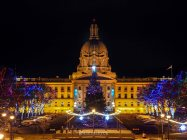 yeg, december, alberta legislature, holidays, christmas