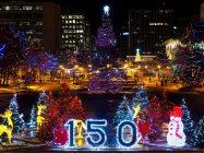 yeg, december, alberta legislature, holidays, christmas