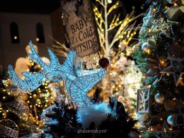 yeg, december, christmas, festival of trees