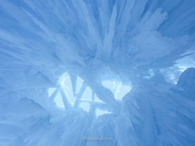 lookbook, edmonton, hawrelak park, ice castles, winter