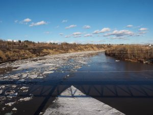 yeg, edmonton, lookbook, april, spring, north saskatchewan river, river valley, capilano