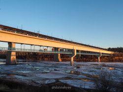 yeg, edmonton, lookbook, april, spring, north saskatchewan river, lrt, high level bridge, sunset