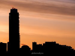 yeg, edmonton, lookbook, april, sunrise, downtown
