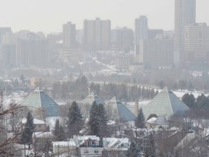 yeg, lookbook, march, muttart, snow, downtown, edmonton