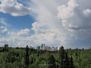 yeg, lookbook, may, clouds, downtown, skyline